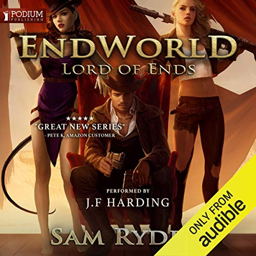 Lord of Ends audiobook cover art