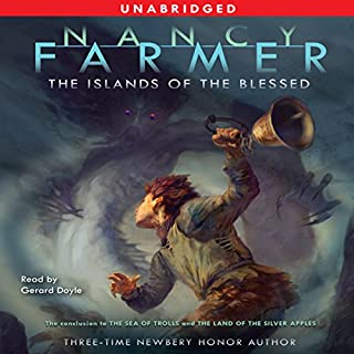 The Islands of the Blessed audiobook cover art