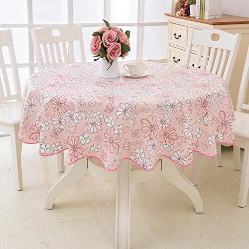 Tafelkleed rond 60 inch, stoelen 4 tot 6 personen, nieuw jaar tafelbekleding, anti-kreuken en vlekwerend, eenvoudige reiniging/herbruikbaar, voor eetkamer-tafeldecoratie 78 inch C
