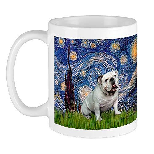 CafePress Starry Night English Bulldog Mug Unique Coffee Mug, Coffee Cup