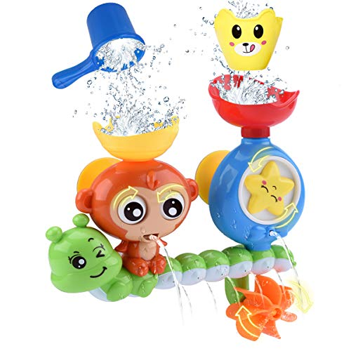 GOODLOGO Bath Toys for Toddlers Kids Babies 2 3 4...