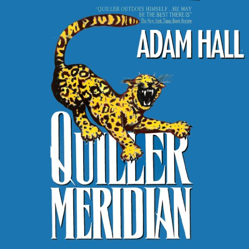 Quiller Meridian audiobook cover art