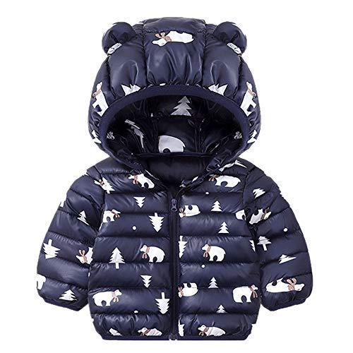 ZatRuiZE Baby Jas Kinderen met Capuchon Donsjack Winterjas Sneeuwpak