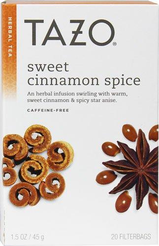 Tazo Herbal Tea Sweet Cinnamon Spice  20 Tea Bags  2 pc