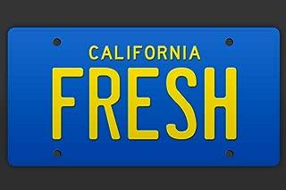 Fresh California Taxi Cab TV Show License Plate Cool Wall Decor Art Print Poster 12x18