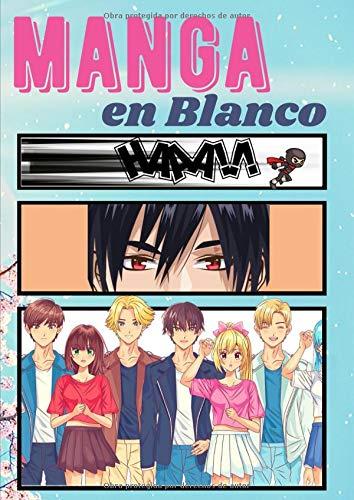 Manga en blanco: Dibuja tu propio manga