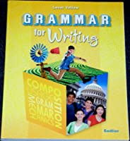 Grammar for Writing, Level Yellow 0821502182 Book Cover
