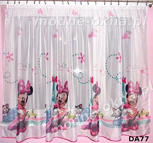 Disney 1x Gardinen mit universalband Minnie Maus Teil 150cm B x 144cm L