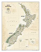 National Geographic New Zealand Executive Map (National Geographic Reference Map)