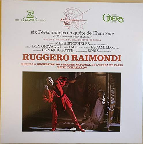 Six Personnages En Quête De Chanteur - Musique Originale Du Film De Maurice Béjart