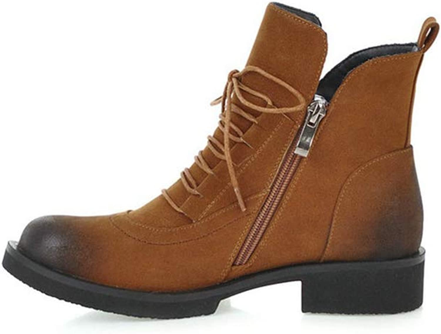 SENERY Winter Boots Fashion Women Ankle Boots Platform All Match Elegant Casual Big Size Booties