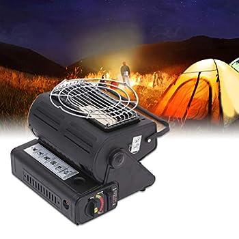 Chauffage - Chauffage Portable pour tentes de Camping au Butane en Plein air Réchaud de Camping Portable Gaz liquéfié à Double Usage Multifonctionnel avec poignée