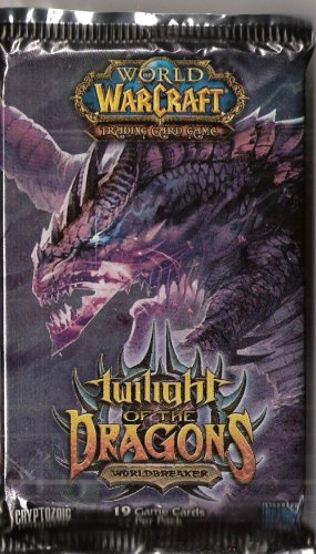 WORLD OF WARCRAFT TRADING CARD GAME TWILIGHT DES DRACHEN BOOSTER PACK [Toy]