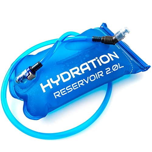 TruMod Hydration Bladder Leakproof Water Bag - Perfect for Hiking, Biking, Skiing and Snowboarding
