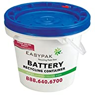 EasyPak Mini Battery Recycling Container