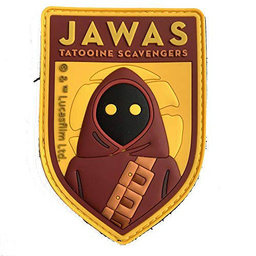 Musterbrand Star Wars Patch Unisex Jawas Multicolore ONE