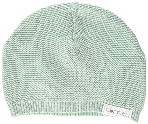 Noppies Baby-Unisex U Hat Knit Rosita Mütze, Grün (Grey Mint C175), One Size (Herstellergröße: 0M-3M)