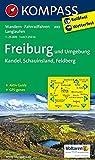 Freiburg und Umgebung - Kandel - Schauinsland - Feldberg: Wanderkarte mit Aktiv Guide, Radwegen und Loipen. GPS-genau. 1:25000: Wandelkaart 1:25 000 (KOMPASS-Wanderkarten, Band 889) - KOMPASS-Karten GmbH