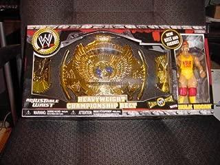 HULK HOGAN WWE JAKKS FIGURE & /WINGED EAGLE KIDS BELT