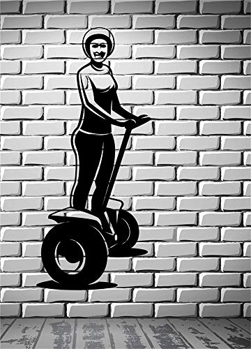 pegatinas de pared tortugas ninja Bicicleta Scooter Vehículo Segways Inicio