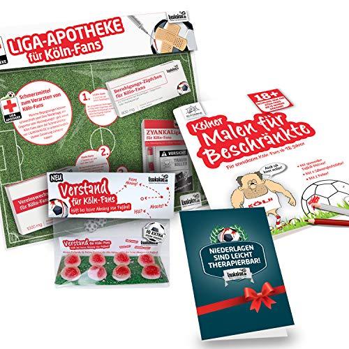 Alles für Köln-Fans by Ligakakao.de Köln Coffee to go-Becher ist jetzt das GROßE Saison Notfall Set für FC Kaffee Becher Tasse Logo rot-weiß