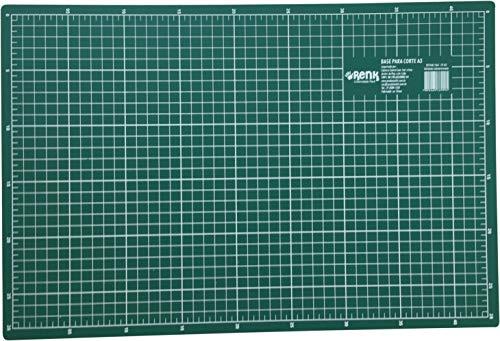 Base Para Corte A3 42x30cm Verde, Kit, 527448, Verde