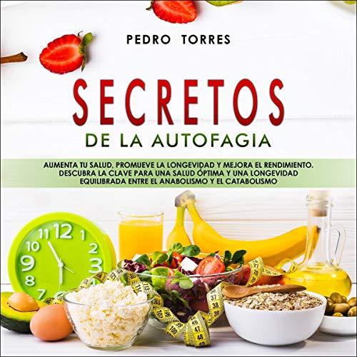 Diseño de la portada del título Secretos de la Autofagia