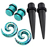 Best Jovivi Ear Piercing Kits - Jovivi 6pcs Ear Stretching Kit Acrylic Tapers + Review