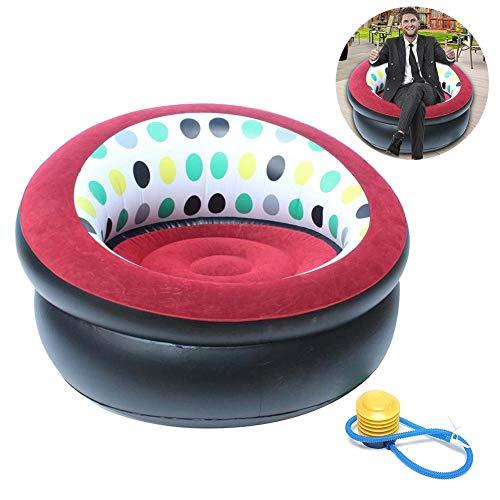 Opblaasbare stoel, inklapbaar, dik, opblaasbaar, bank, voor binnenplaats, thuis