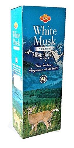 Incienso Sac - White Musk - 6 cajas de 20 varillas