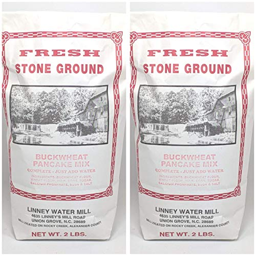 Linney's Mill Buckwheat Pancake Mix 2 - 2 Lb. Bag No Preservatives