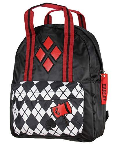 51P76yttk7L Harley Quinn Backpacks for School
