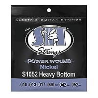 SIT STRINGS エスアイティストリングス エレキギター弦 PowerWound HEAVY BOTTOM S1052 .010-.052 【国内正規品】
