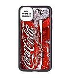 coque-personnalisable® Coque pour Iphone 11 Pro Max Coca-Cola Rouge Original - Contour Silicone...