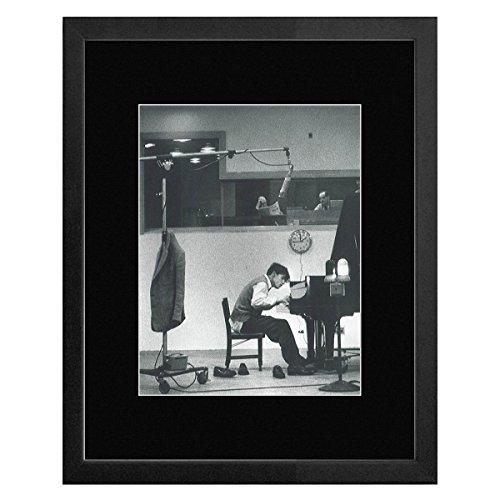 Glenn Gould - Het spelen van de Piano 1956 Omlijst Mini Poster - 33x28cm