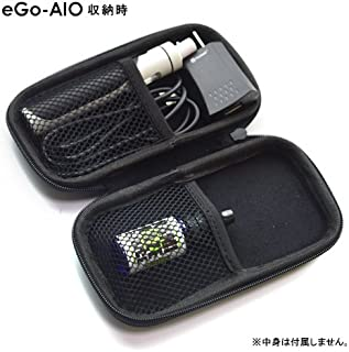 電子タバコ用 ぴったりベープケース ブラック 約15.5cm (外寸約15.5x8.5x3.2cm) eroll eGo-AIO eGo-ONE e-cigalette emili inano istic kbasic istic kpico kamry micro Soft tip X-TC1 X-TC3 【電子タバコ ケース VAPE ケース ポーチ 無地】