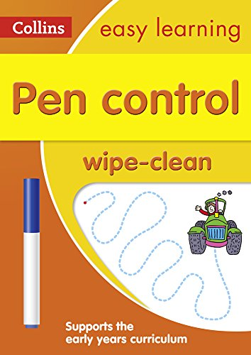 Pen Control Age 3-5 Wipe Clean A...