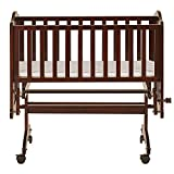 Dream On Me Lullaby Cradle Glider, Espresso (644-E)