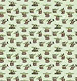 "Star Wars Fabric, Cotton Fabric, Size: 1/4 Yard or Fat Quarter - 18"" X 22"" … (Star Wars Mandalorian Child Playful Poses)"