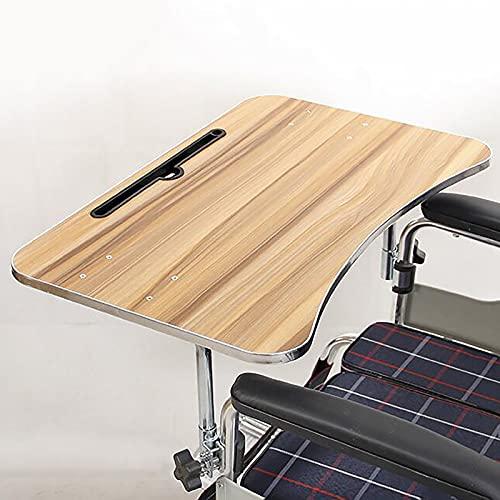 summerr Bandeja para sillas de Ruedas, Bandeja extraíble Que se Fija a los Brazos de la Silla de Ruedas estándar y de Escritorio, para discapacitados, Comer, Descansar, Escribir, Leer (Size : C)