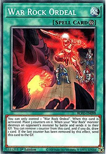 遊戯王 BLVO-EN098 War Rock Ordeal (英語版 1st Edition ノーマル) Blazing Vortex
