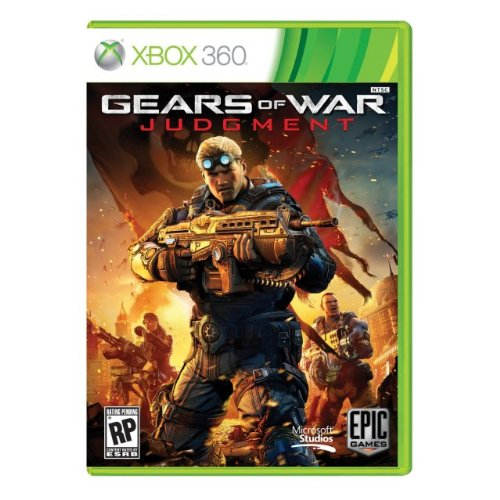 Gears of War: Judgment NTSC-J for Xbox 360 WORKS ON ALL USA/ENGLISH/NTSC DEVICES. FULL ENGLISH LANGUAGE TEXT AND AUDIO [video game]