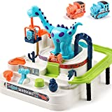 iPlay, iLearn Kids Train Race Track Play Set, Dinosaur Ramp Vehicle Toys, Adventure Indoor Tracks Game, Birthday Gifts for 3, 4, 5, 6,7 Year Olds, Boys, Toddlers, Girls, Children, Preschool Learning