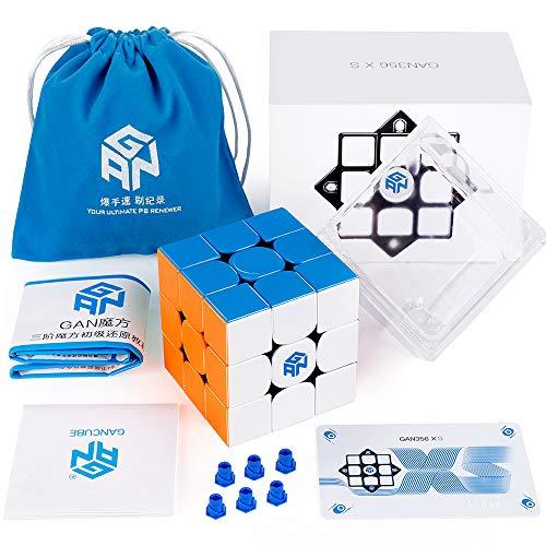 Coogam GAN 356 XS 3x3 Gans sin Adhesivo 356XS Magnetic Puzzle Cube Gan356 XS 3x3x3 M