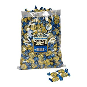 walkers nonsuch english creamy toffees bulk bags 2.5 kg WALKERS NONSUCH English Creamy Toffees Bulk Bags 2.5 kg 51P7D WjvML