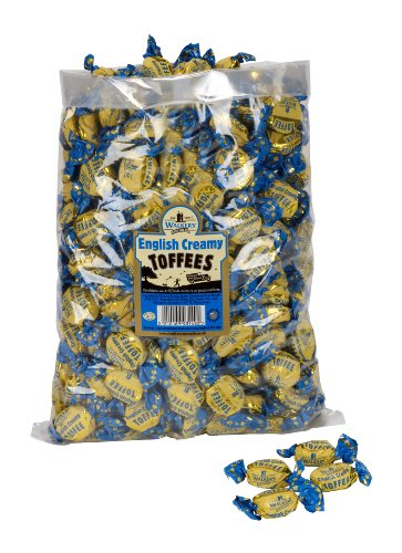 WALKERS NONSUCH English Creamy Toffees Bulk Bags 2.5 kg