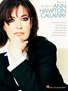 Best of Ann Hampton Callaway Piano, Vocal and Guitar Chords