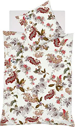 fleuresse Bettwäsche Interlock-Jersey braun-Natur Größe 135x200 cm (80x80 cm)