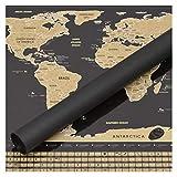 Perfect Travel Map - Wunderschöne XXL Rubbel Weltkarte -