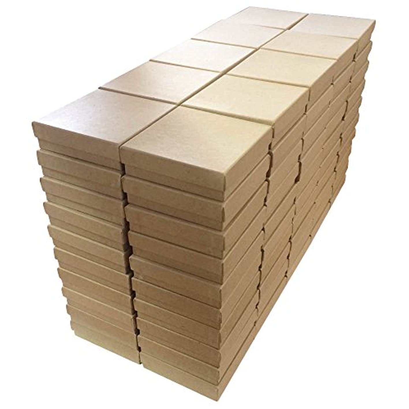 Kraft Cotton Filled Boxes #33 - Pack of 100 votoxjytvjm690